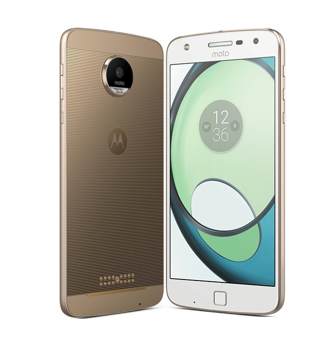 Сотовый телефон Motorola Moto Z 32Gb White-Gold цена