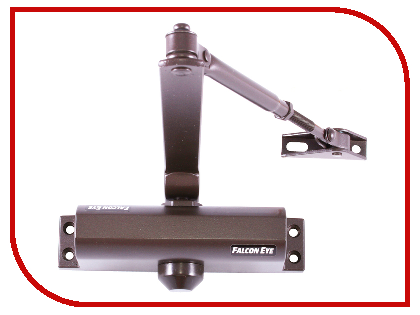 Доводчик дверной Falcon Eye FE-B2W 25-45kg Bronze falcon eye fe ve03 видеоглазок bronze