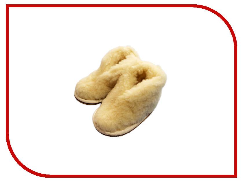 Ортопедическое изделие Smart Textile Бабуши из овечьего меха детские Н522 размер 27-28 Beige