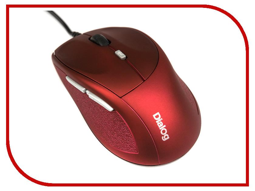 Мышь проводная Dialog Katana Optical MOK-18U Red