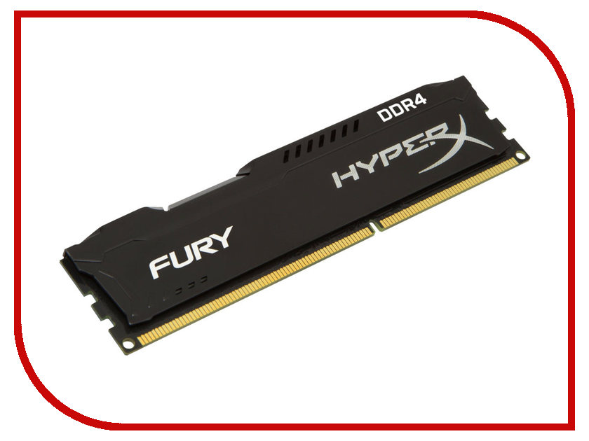Фото Модуль памяти Kingston DDR4 DIMM 2133MHz PC4-17000 CL14 - 8Gb HX421C14FB2/8