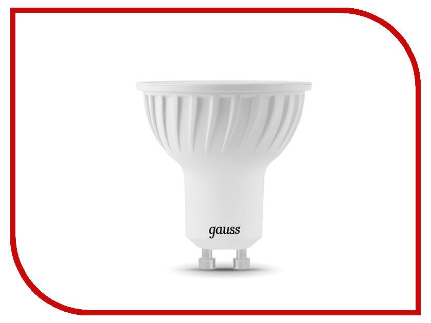 Лампочка Gauss MR16 GU10 5W 2700K 101506105<br>