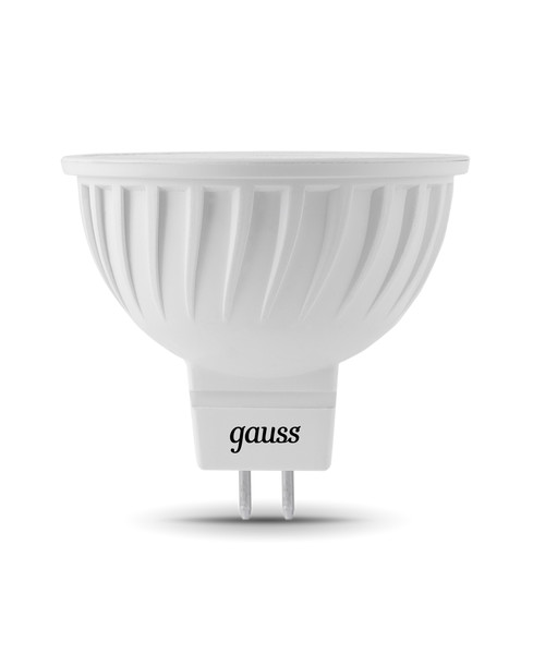 Лампочка Gauss GU5.3 MR16 5W 12V 4100K 201505205