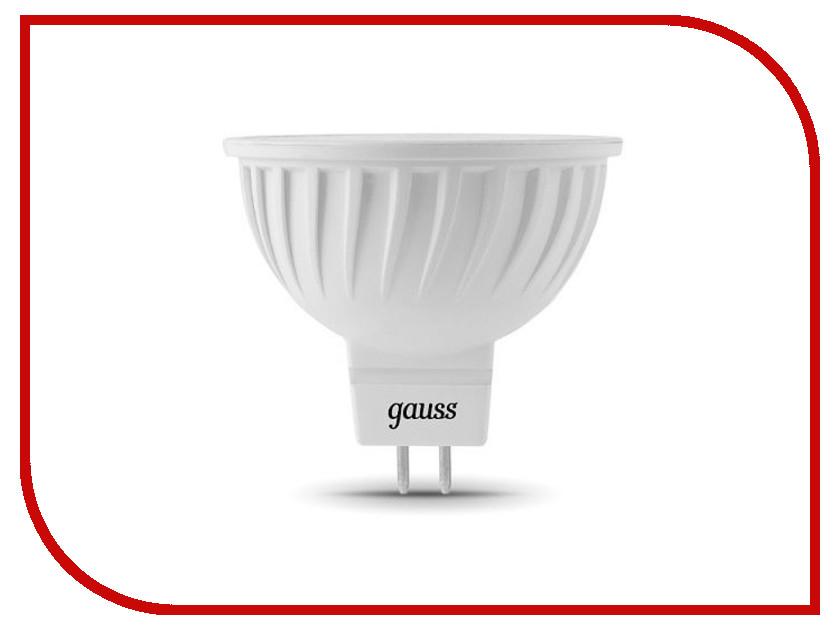 Лампочка Gauss MR16 GU5.3 5W 2700K 101505105 лампочка gauss mr16 gu5 3 5w 2700k 101505105