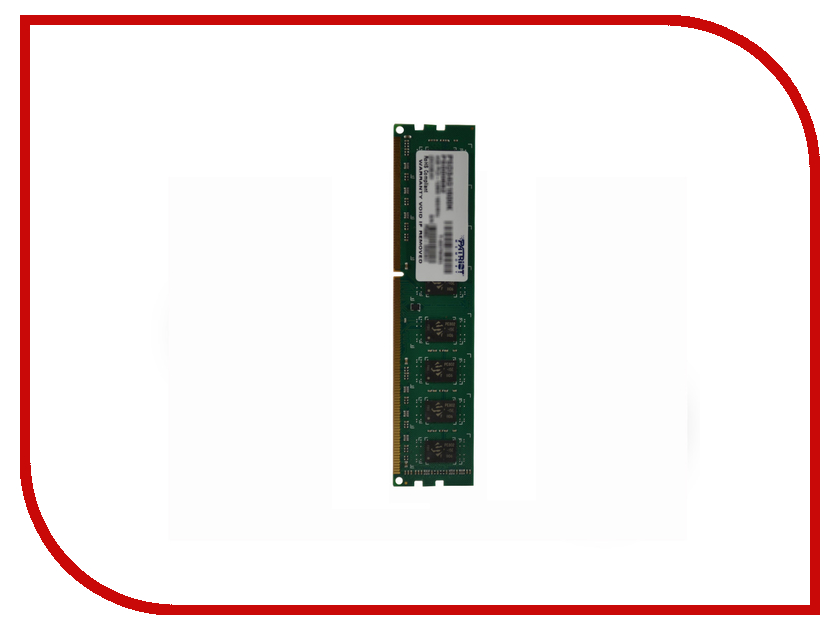 Модуль памяти Patriot Memory DDR3 DIMM 1600Mhz PC3-12800 - 4Gb PSD34G16002 модуль памяти patriot memory ddr3 dimm 1600mhz pc3 12800 2gb psd32g16002 81