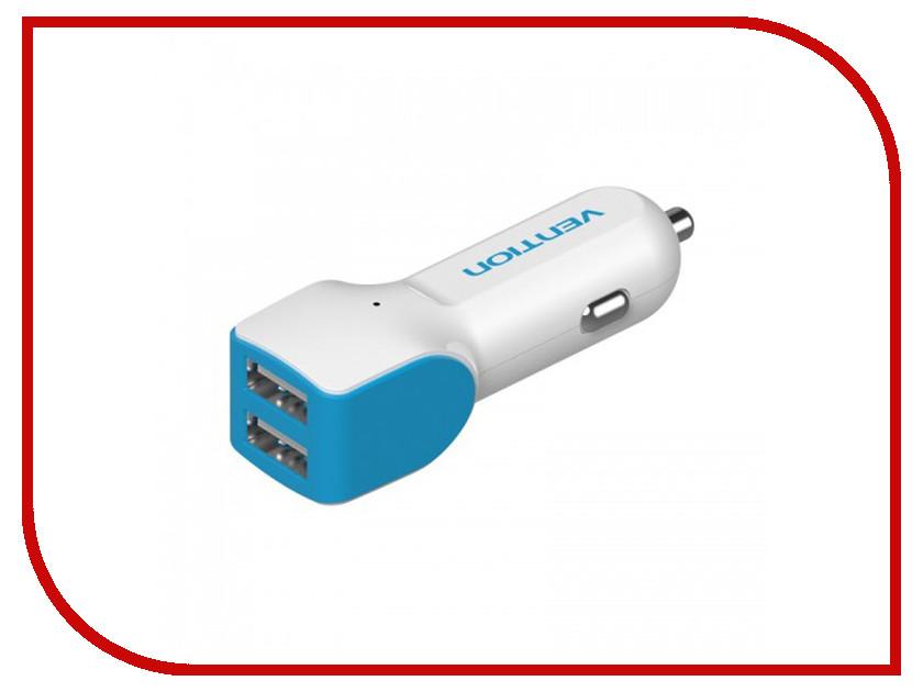 Зарядное устройство Vention 2xUSB 2.1/1A VBC-A04<br>