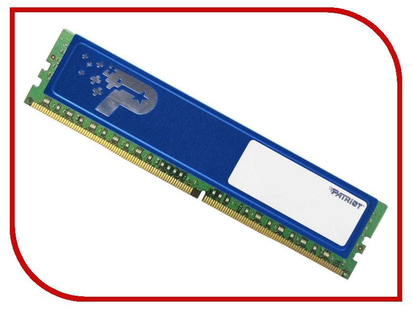 Модуль памяти Patriot Memory DDR4 DIMM 2133Mhz PC4-17000 CL15 - 16Gb PSD416G21332H patriot memory psd48g21332