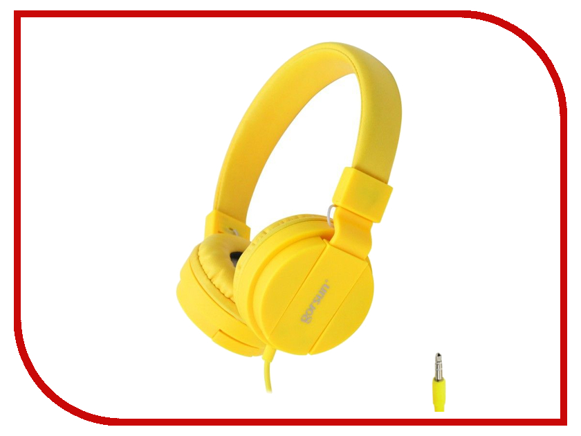 Наушники Gorsun GS-778 Yellow 08622<br>