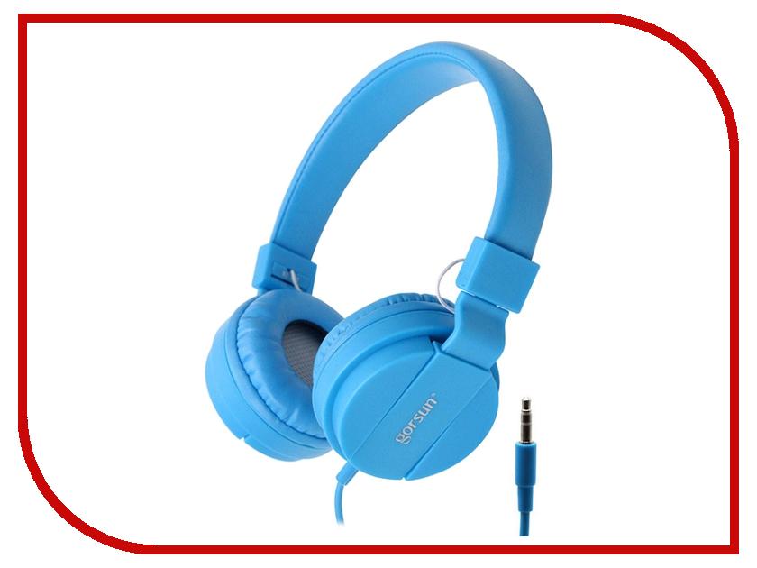 Наушники Gorsun GS-778 Blue 08620<br>