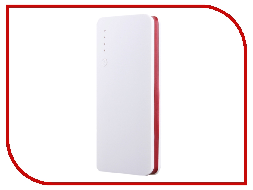 Аккумулятор Activ PB10-02 10000 mAh White-Red SBS10000MAH 52785