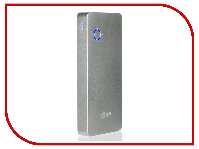 Аккумулятор Cactus CS-PBPT18-18000AL 18000 mAh Silver<br>