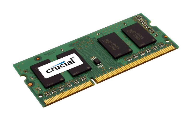 Модуль памяти Crucial DDR3L SO-DIMM 1600MHz PC3-12800 CL11 - 2Gb CT25664BF160BJ цена