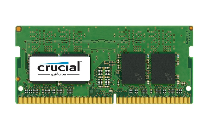 Модуль памяти Crucial DDR4 SO-DIMM 2400MHz PC4-19200 CL17 - 4Gb CT4G4SFS824A цена