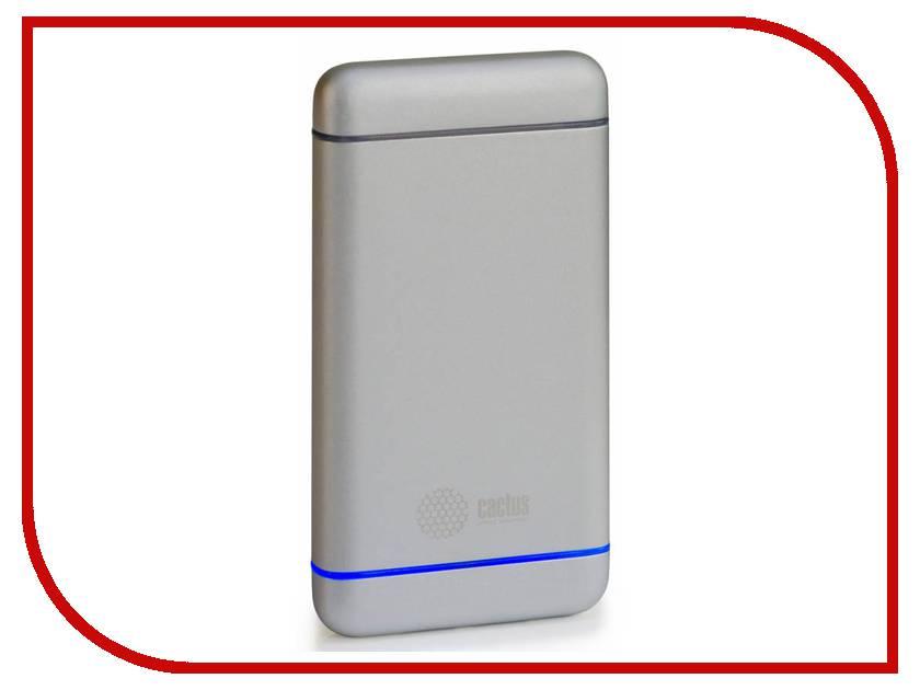 Аккумулятор Cactus CS-PBMS028-5000AL 5000 mAh Silver<br>
