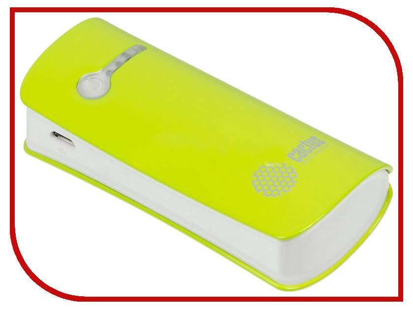 ����������� Cactus CS-PBX2-5200GW 5200 mAh White-Green