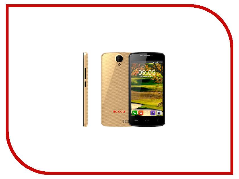 Сотовый телефон BQ BQS-4560 Golf Gold<br>