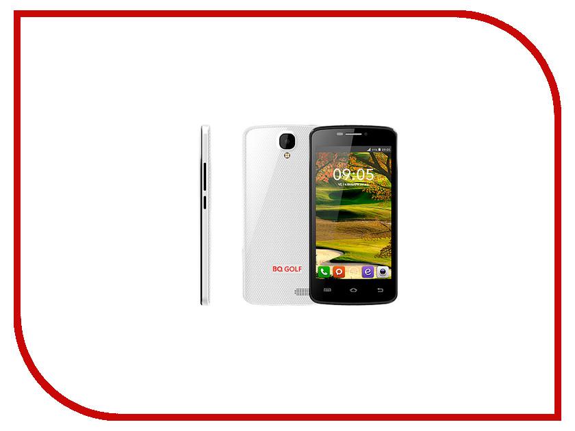 Сотовый телефон BQ BQS-4560 Golf White сотовый телефон bq bqs 5070 magic lte brown