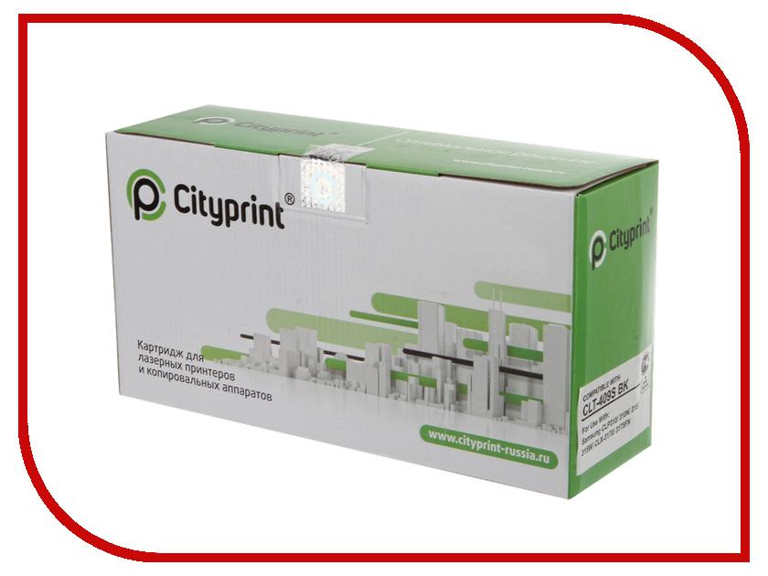 Картридж Cityprint CLT-K409S Black для Samsung CLP-310/N CLP-315/W CLX-3170FN/3175N/FN/FW кобура кобура gletcher поясная для clt 1911