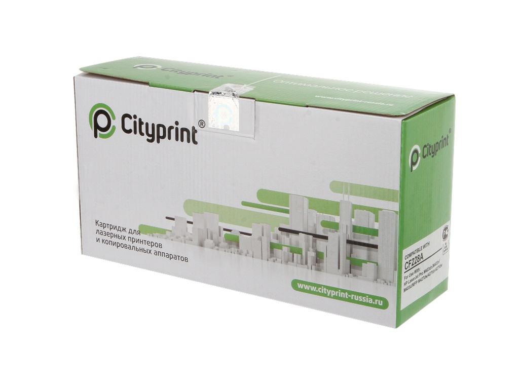 цена на Картридж Cityprint CF228A Black для HP LaserJet Pro M403/M427 Series