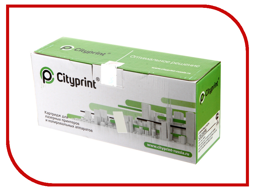 Картридж Cityprint CE285X Black для HP LaserJet Pro P1120W/P1102/M1212nf MFP/M1132 MFP<br>