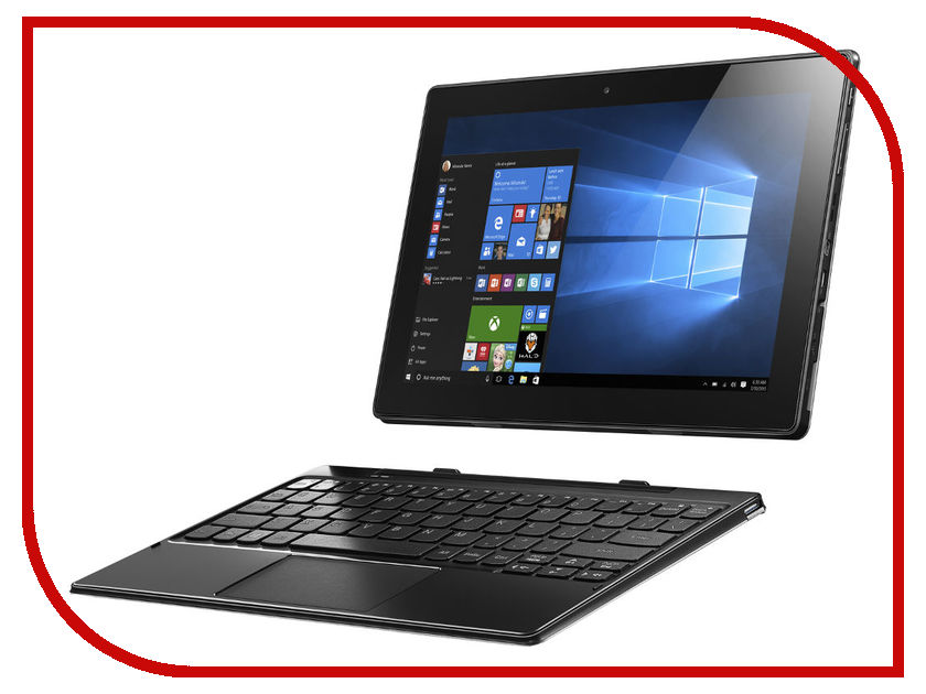 Планшет Lenovo MiiX 310-10ICR 80SG00AARK (Intel Atom X5-Z8350 1.44 GHz/2048Mb/32Gb/Wi-Fi/Bluetooth/Cam/10.1/1280x800/Windows 10) z83ii mini pc intel atom x5 z8350 windows 10 2g 32g wi fi