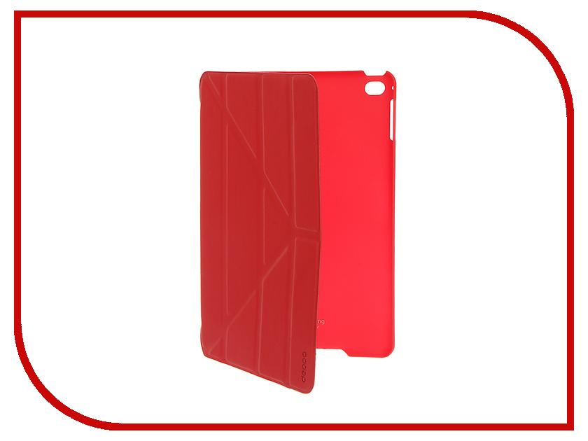Аксессуар Чехол-подставка Deppa Wallet Onzo для Apple iPad mini 4 Red 88012<br>