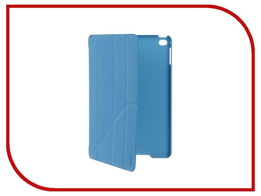 Аксессуар Чехол-подставка Deppa Wallet Onzo для Apple iPad mini 4 Blue 88013