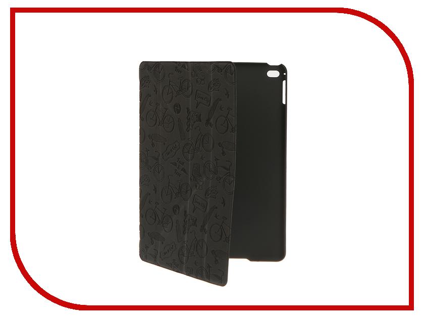 Аксессуар Чехол-подставка Deppa Wallet Onzo для Apple iPad Air 2 Dark Grey 88020