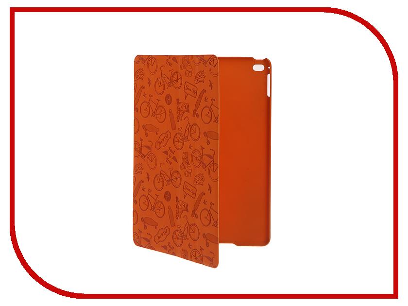 Аксессуар Чехол-подставка Deppa Wallet Onzo для Apple iPad Air 2 Orange 88021<br>