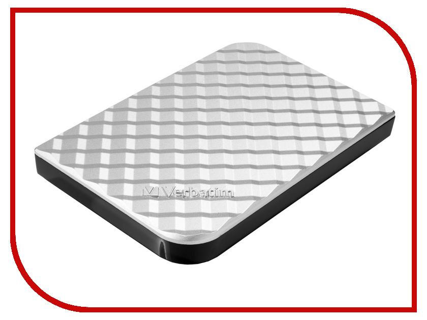 где купить  Жесткий диск Verbatim 1Tb USB 3.0 Silver 53197  дешево