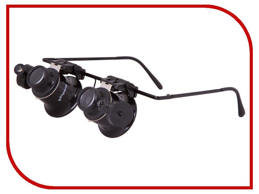 Лупа-очки Levenhuk Zeno Vizor G2 20x 20x monocular stereo microscope with 20x up right image small size 2x objective and wf10x eyepiece