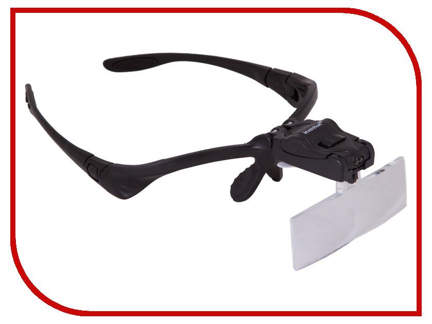 Лупа-очки Levenhuk Zeno Vizor G3 1/1.5x/2x/2.5x/3.5x лупа levenhuk zeno 700