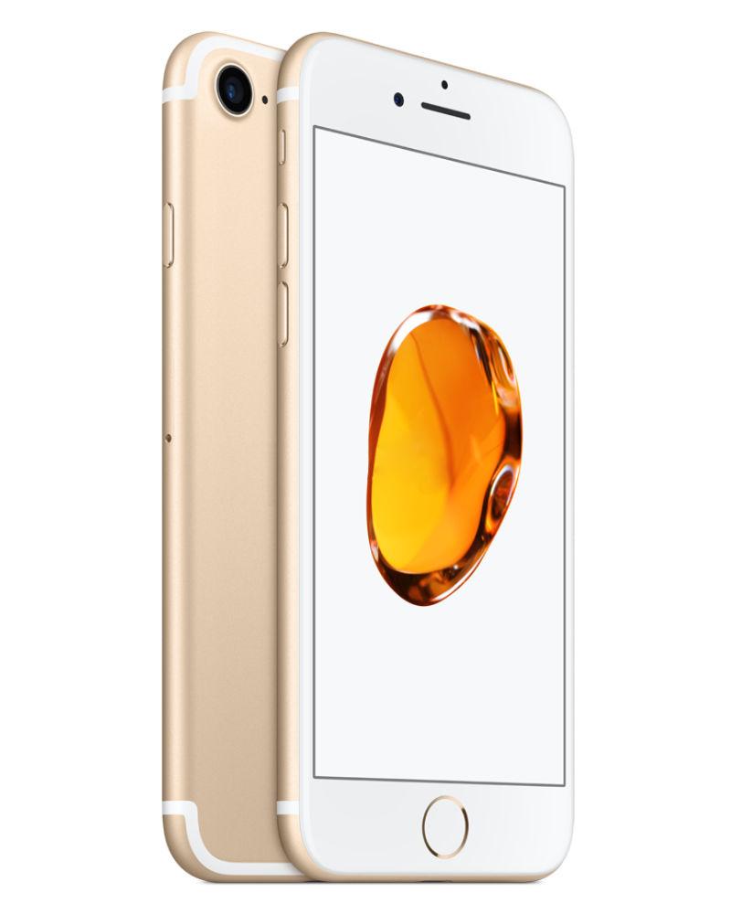 Сотовый телефон APPLE iPhone 7 - 128Gb Gold MN942RU/A Выгодный набор + серт. 200Р!!! сотовый