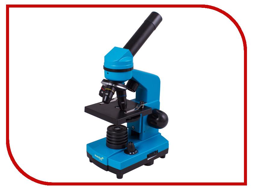 Микроскоп Levenhuk Rainbow 2L Azure микроскоп levenhuk rainbow 50l moonstone 69046