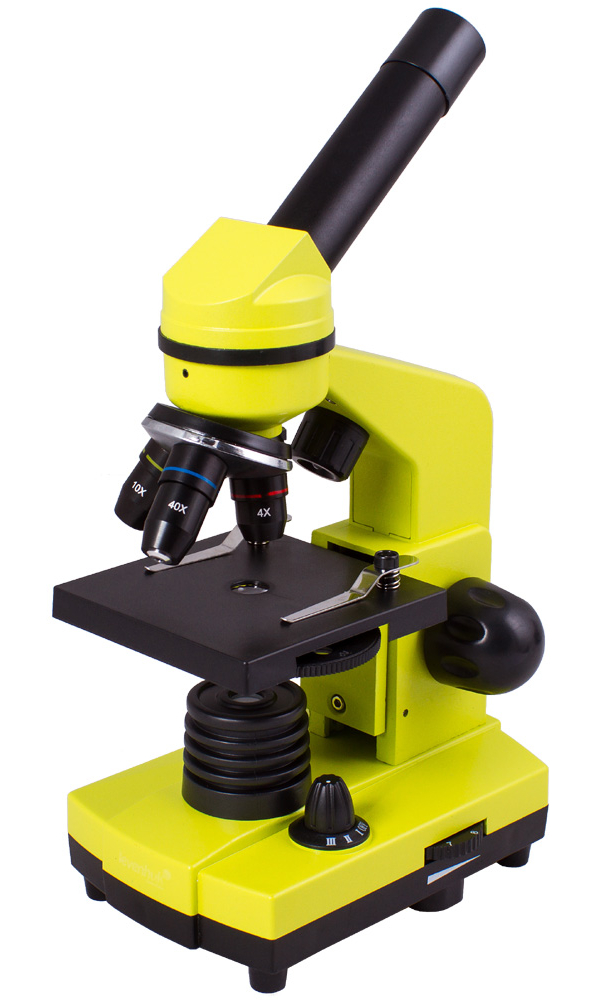 лучшая цена Микроскоп Levenhuk Rainbow 2L Lime