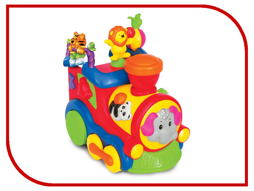 Игрушка Kiddieland Цирковой поезд KID 037978<br>