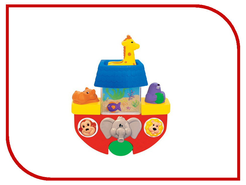 игрушка Kiddieland Кораблик KID 029645 стоимость