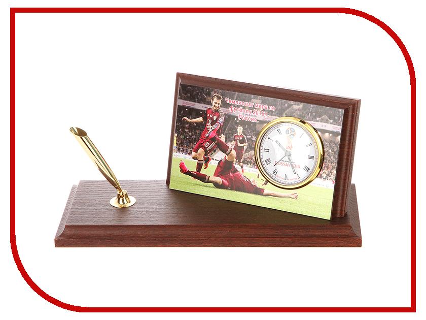 Часы настольные Восток-Дизайн A6 Россия Чемпионат мира по футболу 2018<br>