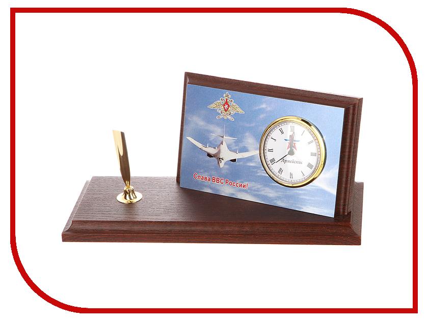 Часы настольные Восток-Дизайн A6 Самолет ТУ 95<br>