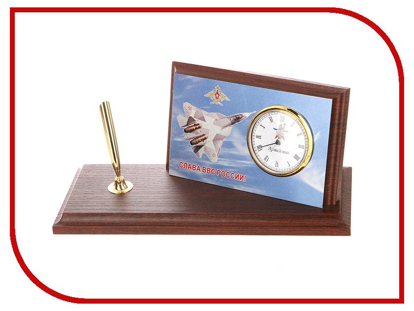 Часы настольные Восток-Дизайн A6 Слава России. Самолет<br>