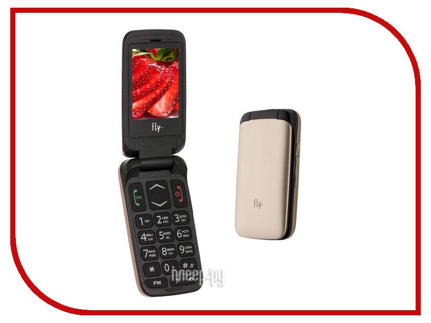 Сотовый телефон Fly Ezzy Trendy 3 Gold