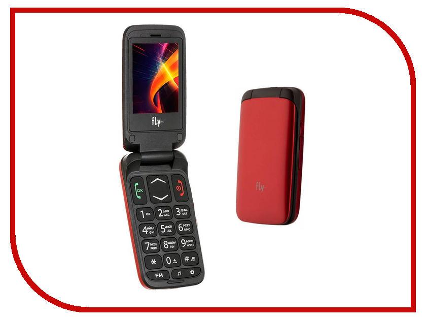 Сотовый телефон Fly Ezzy Trendy 3 Red<br>