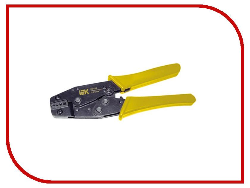 Клещи обжимные IEK КО-06Е TKL20-006-016 мультиметр iek professional my61