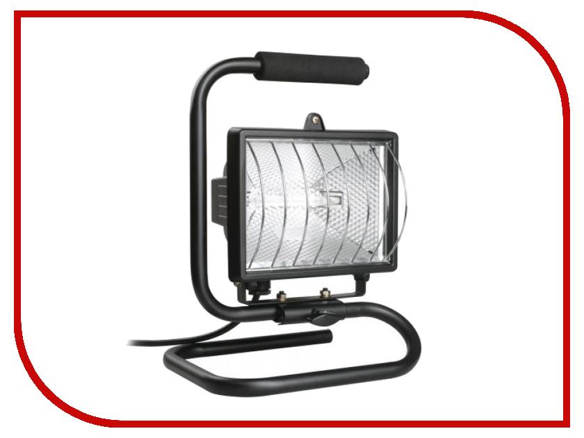 Лампа IEK ИО 500П Black LPI03-1-0500-K02