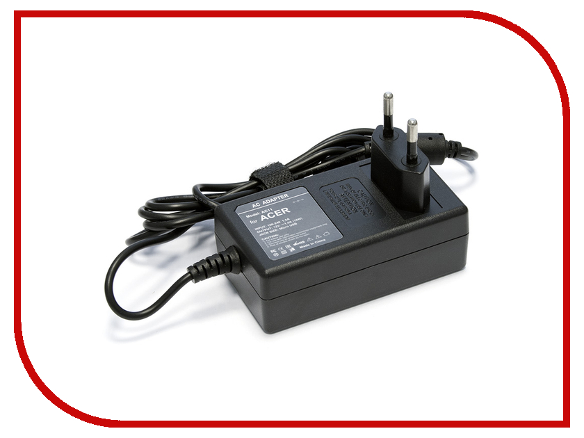 Зарядное устройство Tempo AC11 1.5A MicroUSB for Acer
