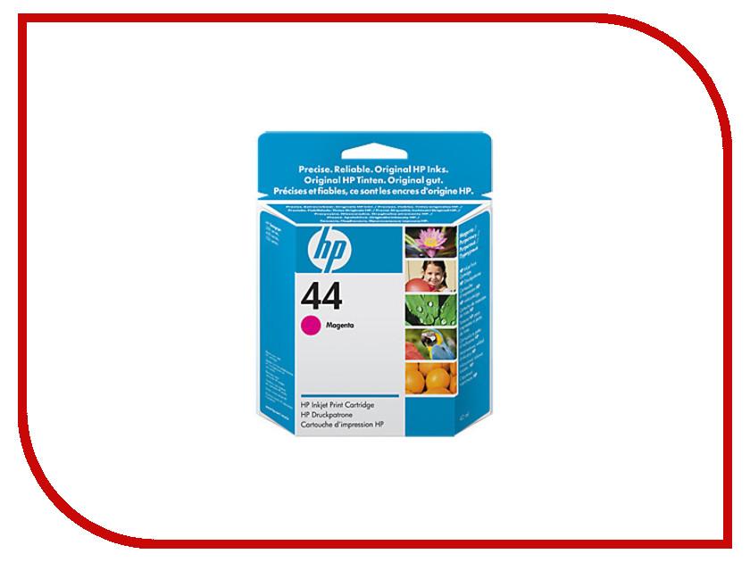 Картридж HP 44 51644ME Magenta для DJ 350C / 450C / 455CA / 750C / 755CM картридж для принтера nv print для hp cf403x magenta