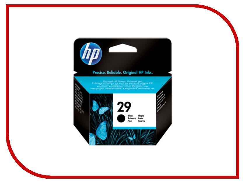Картридж HP 29 для DJ 6XX Black 51629AE<br>