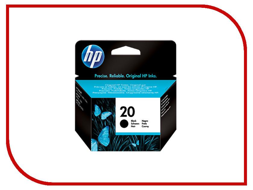 Картридж HP 20 C6614DE Black для DJ 610C x2 10 p005ur hewlett packard