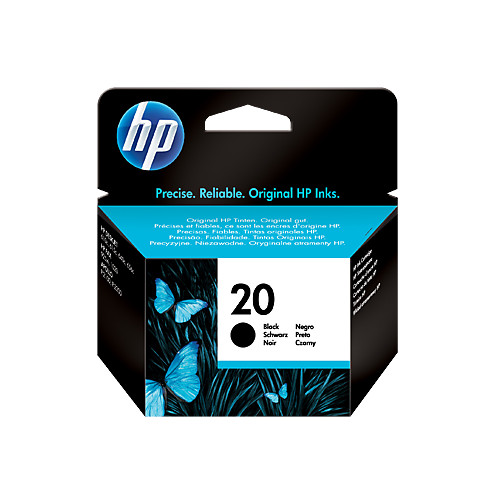 Картридж HP 20 C6614DE Black для DJ 610C hp 980 d8j10a