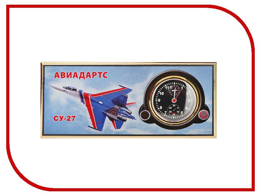 Часы настольные Восток-Дизайн A6 Самолет СУ-27
